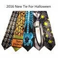 2016 Nuevo Diseño de Estilo Niños de La Manera de Los Hombres Corbatas Corbata de Halloween Festival de Navidad Lazo Corbata Carácter De Diseño Suave