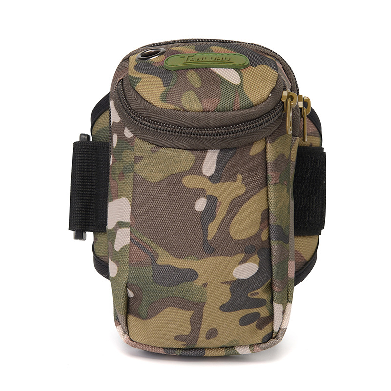 Unisex 8 Color Running Bag Waterproof Arm Bags Camouflage Phone Multifunctional Package Sports Equipment Accessory