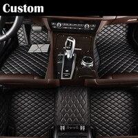 Custom Fit Car Floor Mats Colors For Ford Edge Escape Kuga Fusion Mondeo Ecosport Explorer Focus