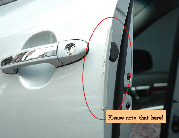 aeProduct.getSubject() & Aliexpress.com : Buy 8pcs/lot Black clear Car Door Protector Fiber ... pezcame.com