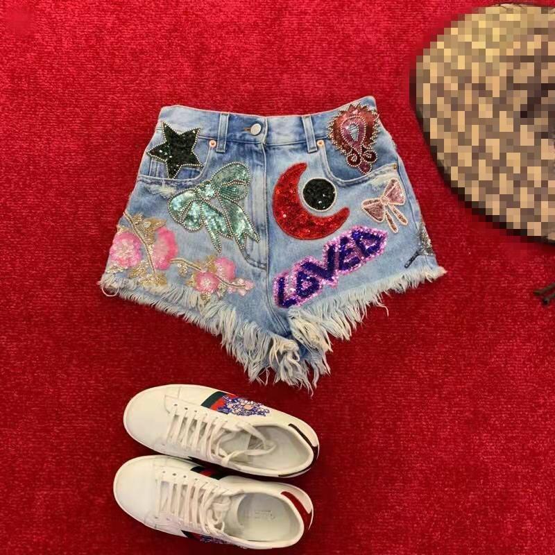 AH03403 горячая Распродажа Новая мода 2019 повседневные шорты Популярные известный бренд моды дизайн вечерние Стиль Женская одежда