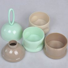Portable Rings Baby Milk Powder Container
