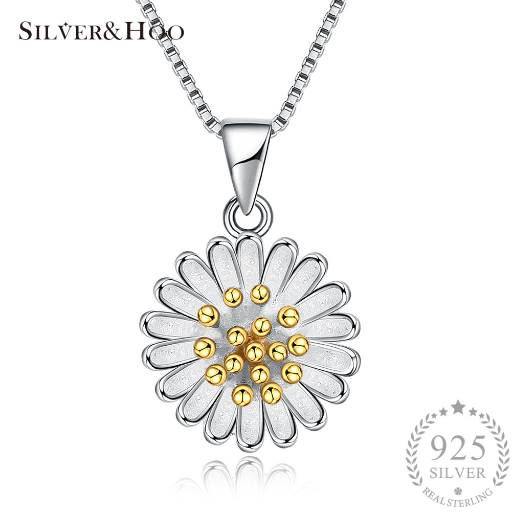 silver occasion daisy pendant sterling pend for special purchase lg