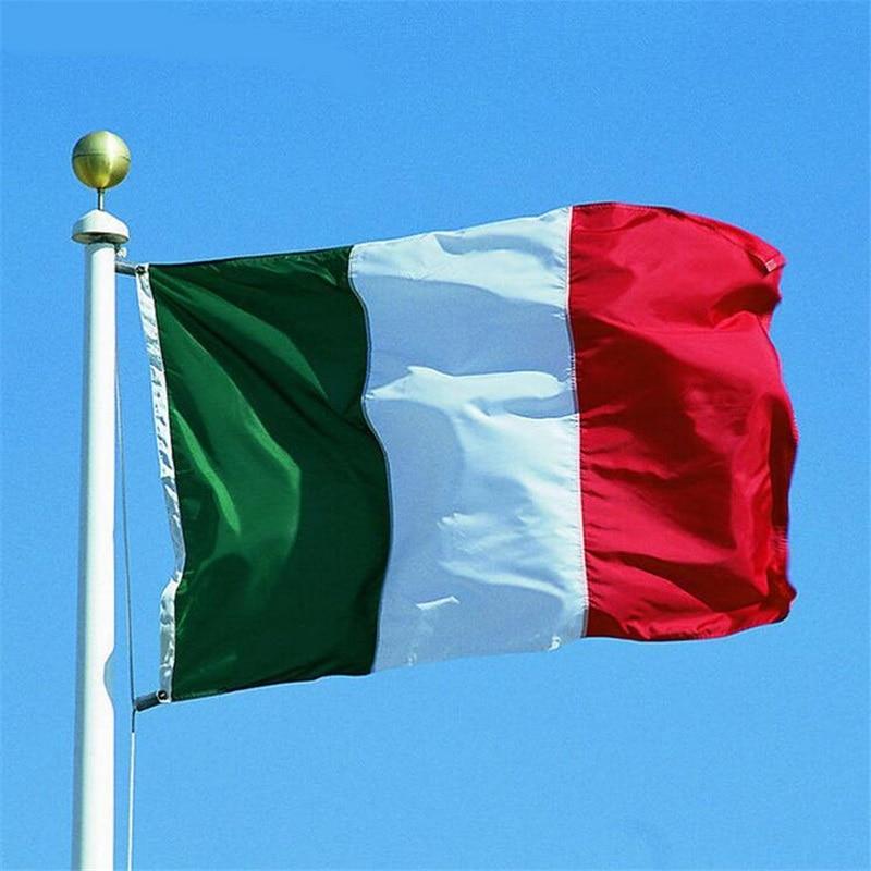 Italian Flag: 150*90cm Italian Flag Italy Flags Banner Outdoor Indoor