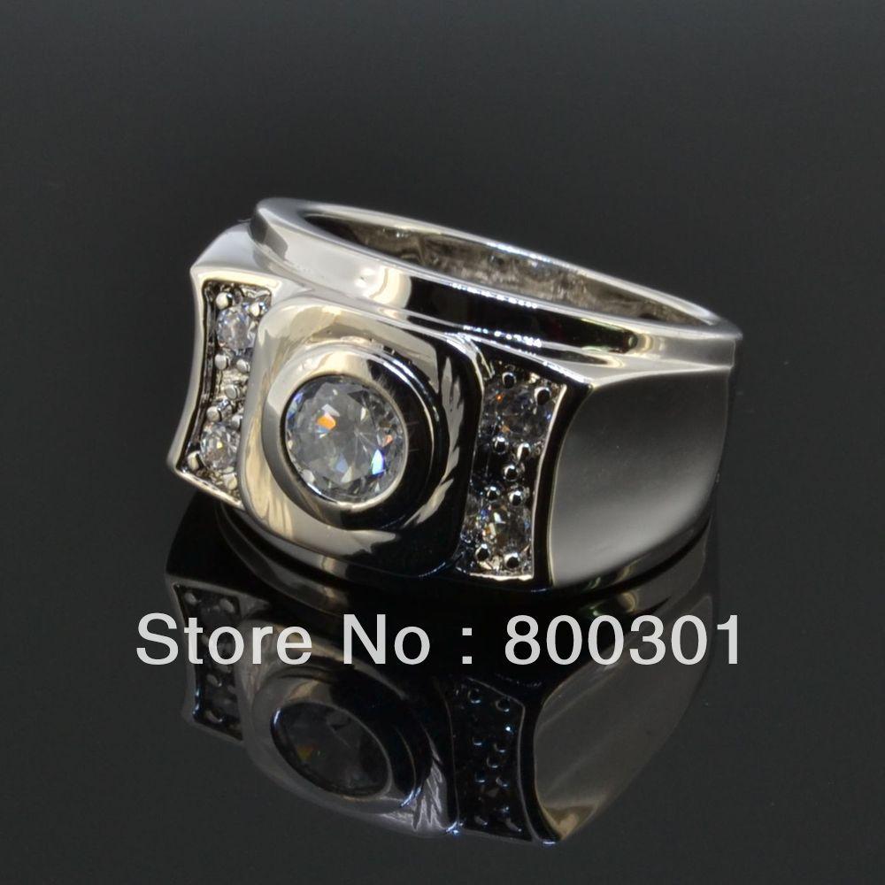Винтажные Ювелирные изделия Anel de Prata, мужское большое кольцо из стерлингового серебра, бижутерия, мужские свадебные аксессуары