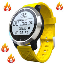 Hohe Qualität Armbanduhren Schwimmen Wasserdichte Bluetooth Smart Uhren F69 Mit Gesunde Sport Pulsmesser Smartwatch