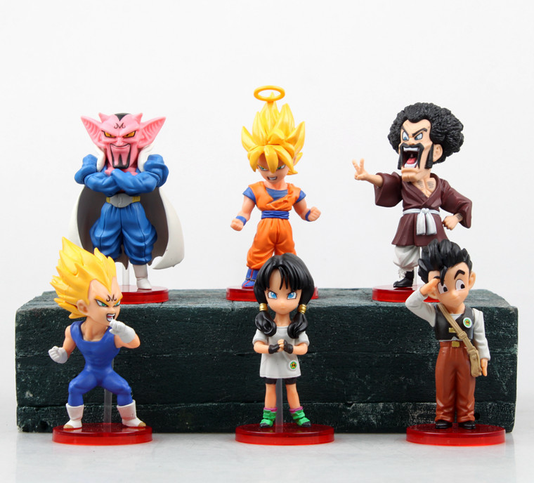 8cm To 10cm Second Generation 6 In 1 Dragon Ball font b Action b font font