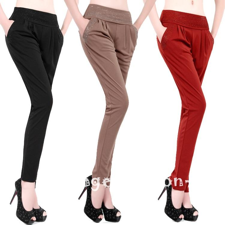 Original Women Wide Leg Pants Pleated Pants Ankle Length Trousers Fashion