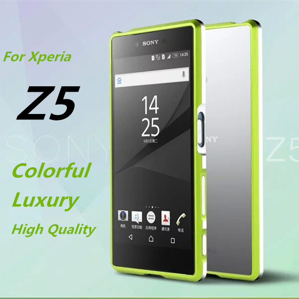 bilder für Z5 Dual stoßkasten Luxus Deluxe Ultra-dünne Stoßfeld-fall Für Sony Xperia Z5 E6633 E6653 E6683 5,2-zoll