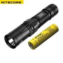 NITECORE linterna LED de 1800 lúmenes, EC23 18650, batería recargable, resistente al agua, portátil, para acampar al aire libre, Envío Gratis