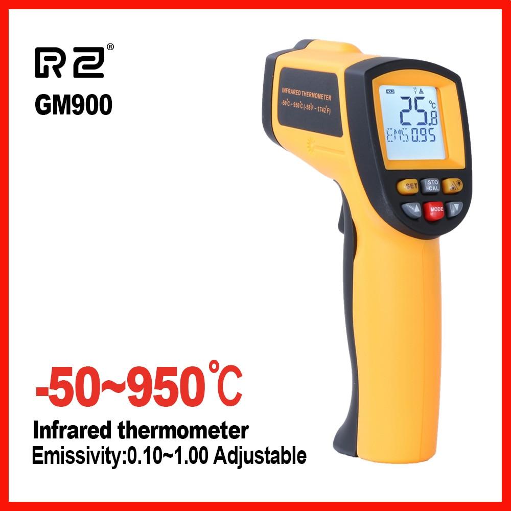 Alta Precisão display Handy household Temperatura Gun Termômetro Digital Infravermelho GM700 GM900