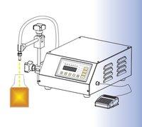Compact Digital Control Pump Liquid Filling Machine 2 3500ml Very Precisely