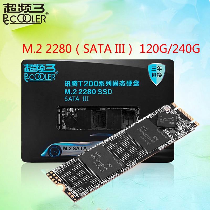 Pccooler T200 SSD 120 GB 240 GB disque dur disque disques SSD M.2 2280 SSD interne pour ordinateur portable de bureau 128 GB 256 GB
