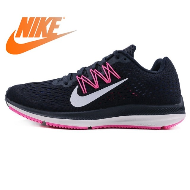aa0b182ac53b4 Original Authentic NIKE ZOOM WINFLO 5 Women s Running Shoes Sneakers  Lace-up Athletic Breathable Rubber Lightweight Non-slip