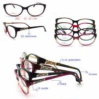 Super High Quality Cat Eye Glasses Frame Women Frame Points Men Optical Eyewear Wholesale Oculos Marcas