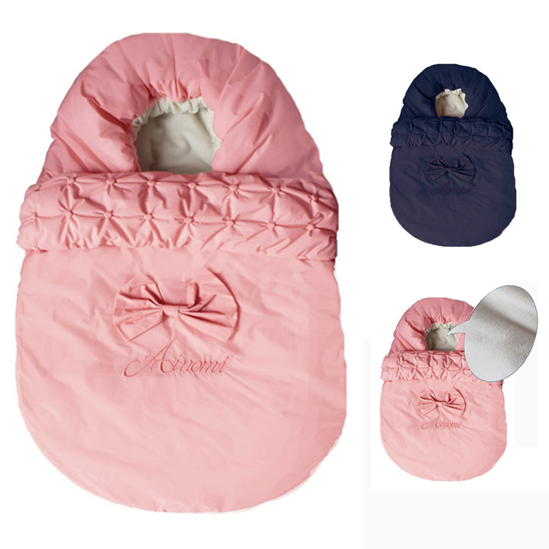 Baby Sleeping Bag Winter Envelope For Baby Newborns Sleep Thermal Sack Cotton Kids Sleep Sack Stroller Sleeping Bag Windproof цены
