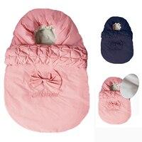 Baby Sleeping Bag Envelope For Baby Newborns Sleep Thermal Sack Cotton Kids Sleep Sack Stroller Winter Sleeping Bag Windproof