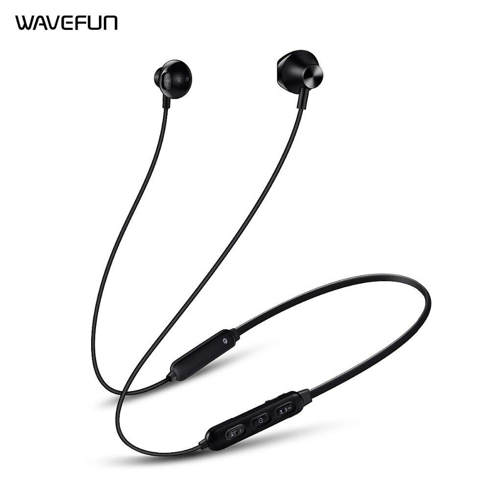带有Qualcoom处理器的Wavefun Flex 2蓝牙耳机用于xiaomi iPhone手机的无线耳机耳机15小时播放时间wavefun xpods 3