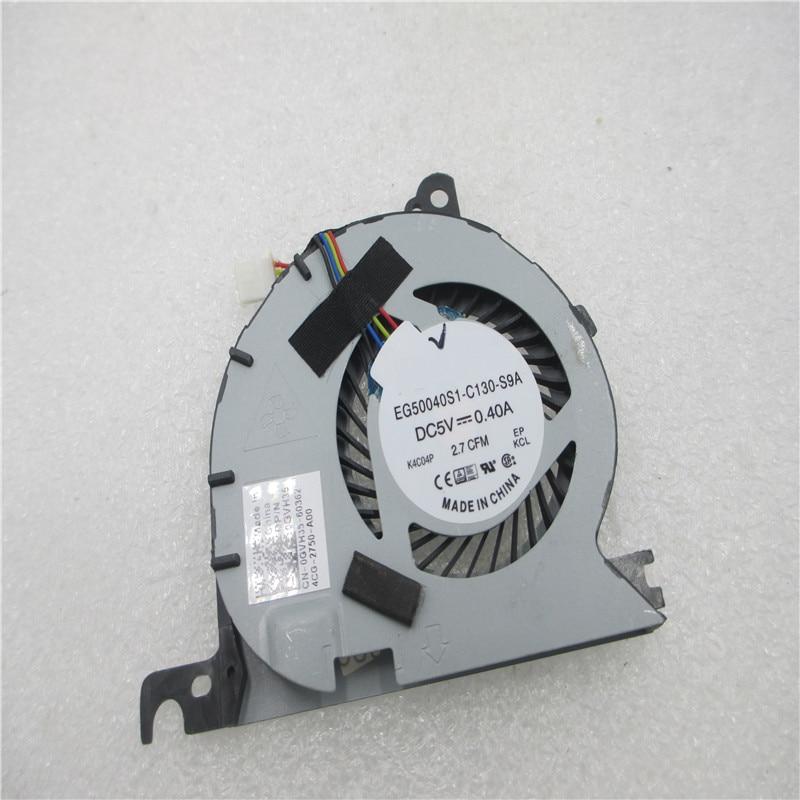 2pcs Original Laptop Cooling Fan Cooler For DELL For Latitude E7240 EG50040S1-C130-S9A 0GVH35 DC28000D6SL GVH35 KSB0605HC-CL1N
