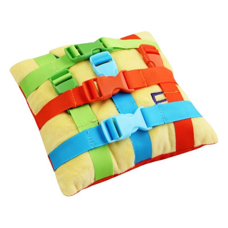 1 conjunto montessori fivela bebê montessori brinquedos do bebê básico treinamento de habilidade de vida crianças cedo educacional cor correspondência brinquedos aniversário