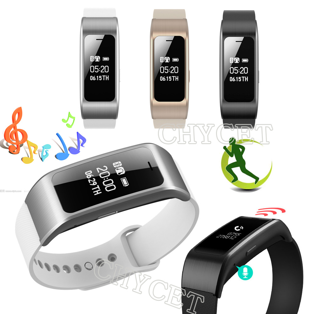 Calls SMS Reminder smart bracelet A96 Smart Wristband Pedometer Fitness Tracker Smartband for phone
