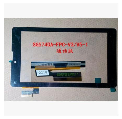 Novo 7-polegadas tela de toque capacitivo tablet sg5740a-fpc-v5-1 sg5740a-fpc-v4-1 sg5740a-fpc-v3-1 frete grátis
