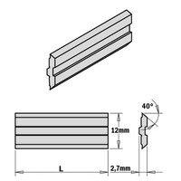 CMT 795.400.12 juego de 2 cortador blades centrostar centrofix quickfix 400x12x2.7mm HPS Acessórios para ferramenta elétrica     -