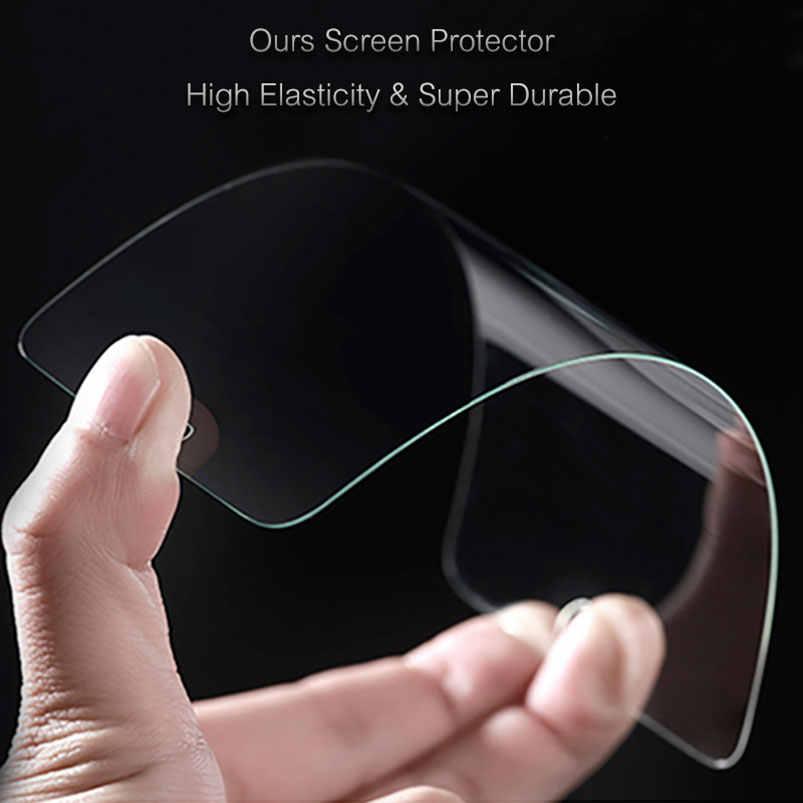 Top 9 H Pelindung Layar Anti Gores untuk LG G7 Thinq G6 V30 Plus G4 G5 V20 K10 2016 2017 q6 V10 Film Depan Guard Case Tas