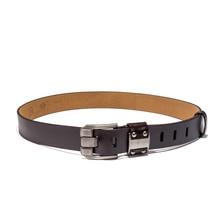 Men's Jeans Pin Buckle Leather Belt