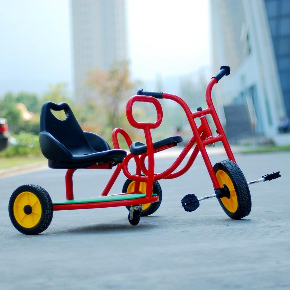 2019 nouveau jardin d'enfants tricycle pliant chariot vélo bébé poussette torsion bébé voiture préscolaire enfants vélo