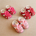 2016 new arrival baby shoes baby girls sandals summer toddler newborn soft bottom sandal shoes Pu Light Sandals    26