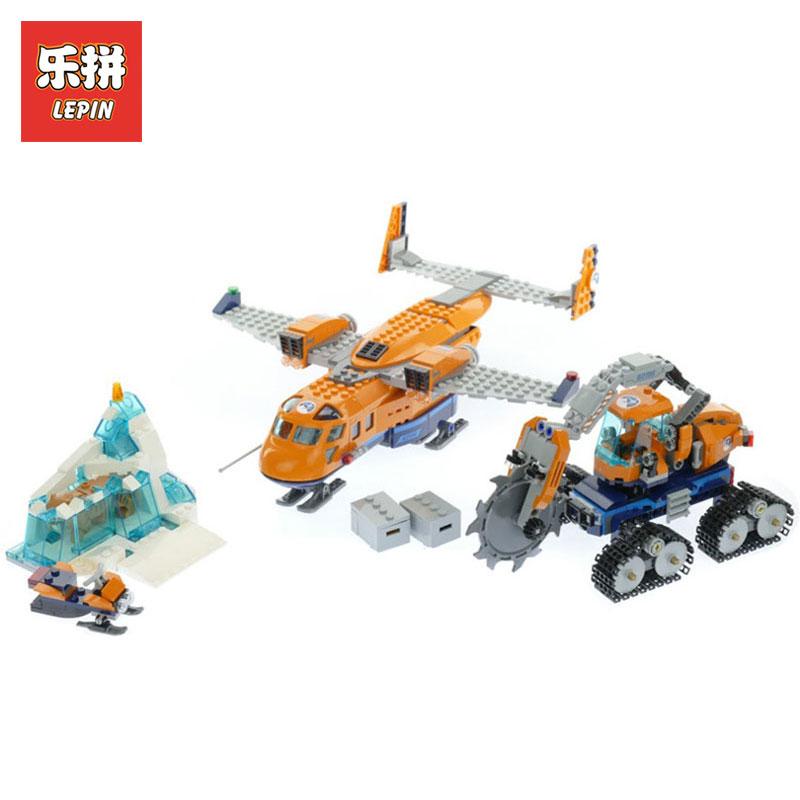 New 2018 Lepin 02112 791pcs City Series Arctic Supply Plane Set Model Building Blocks Brick Educational Toys LegoINGlys 60196