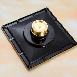 Image 3 - Freies Verschiffen Moderne 15cm x 15cm Bad Dusche Boden Ablauf Waschmaschine Abfall Ablassen Antike Messing