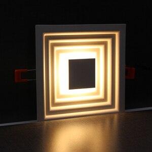 Image 2 - Zerouno Moderne Led Licht Lamp Speciale Techniek Verlichting Lamp 6W 12W Verzonken Dunne Hoge Lumen Home Tentoonstelling Mall verlichting