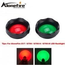AloneFire E17 anahtarı aksesuarları G700 LED el feneri anahtarı/kırmızı yeşil lens/uzaktan basınç anahtarı/uzaktan basınç pad anahtarı