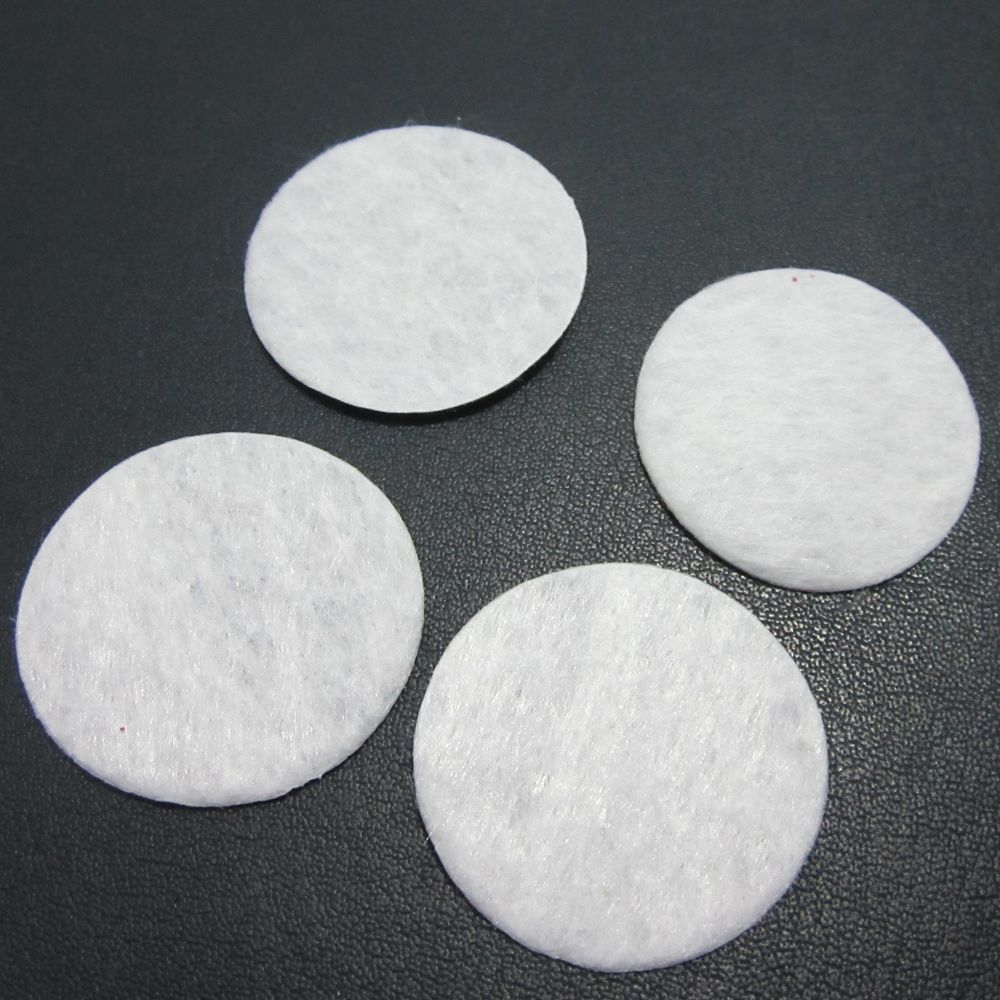 Scrapbook 500pcs 3cm padded felt round shape craft diy appliques clothing decoration A151*5