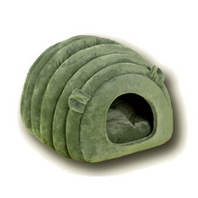 Pet Dog Cat Beds Mats Puppy House kennel nest Comfortable soft Semi-closed sleeping bag Accessories Supplies product