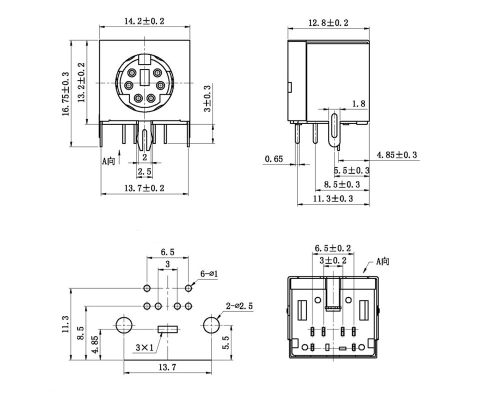 8 pin din connector diagram wiring schematic