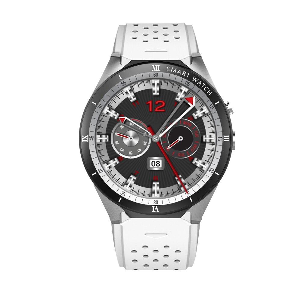 Android 7.0 Montre Smart Watch KW88 Pro MTK6580 Quad Core 3g Montre 1g + 16g Smartwatch SIM Carte wiFi GPS Montre pour IOS Android Téléphone