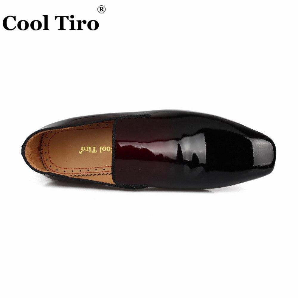 Mocasines Gradiente Caballeros Zapatos Negro Novia Hombres Charol Vestido Formal Fumar Zapatillas Planos Cool Hombre Tiro Casual De 5XqAwA6