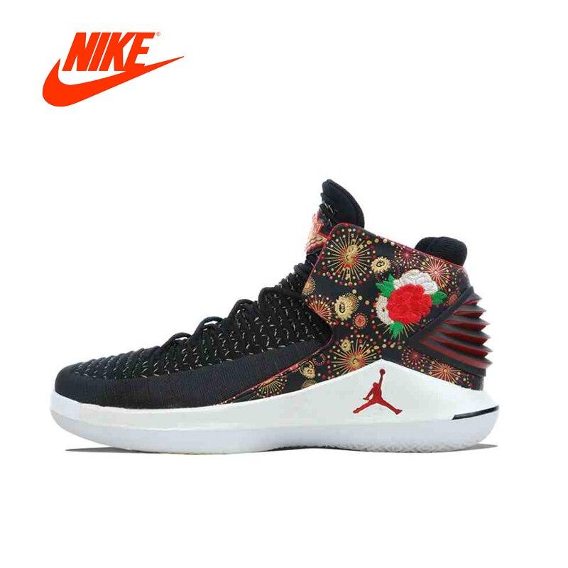 Original Nouvelle Arrivée Authentique NIKE AIR JORDAN XXXII PF CNY AJ32 Mens Basketball Chaussures Sneakers Sport En Plein Air de Bonne Qualité
