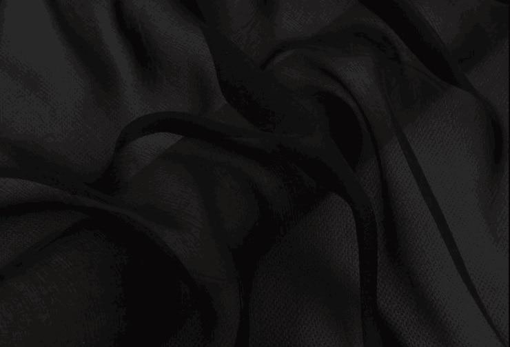 """Kuidas on 100% puhas siidkangas šifoon 5,5m / m 140cm 55 """"must 9 # salli kleidi salli kaunistamiseks"""