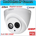 Английская Версия Dahua Ip-камера HD1080P DH-IPC-HDW4431C-A 4MP 2592x1520 Безопасности CCTV Камера с Поддержкой Onvif POE IPC-HDW4431C-A