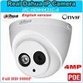 Versão inglês Dahua IP Câmera HD1080P DH-IPC-HDW4431C-A 4MP 2592x1520 Câmera de Segurança CCTV Suporte Onvif POE IPC-HDW4431C-A