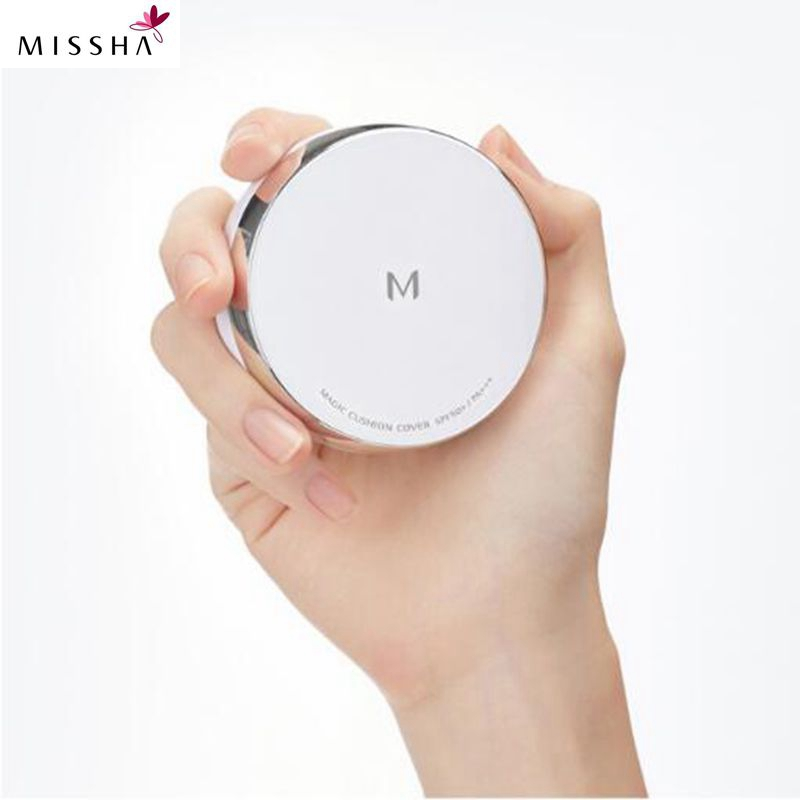 MISSHA M Magic Cushion SPF50+ PA+++ 15g Air Whitening Flawless BB cream Foundation Concealer Makeup Original Korea Cosmetics mini 400w wireless remote control fog machine pump dj disco smoke machine for party wedding christmas stage fogger
