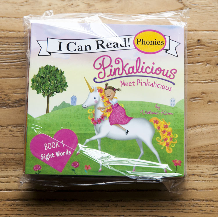 New 12books/set I Can Read Phonics Pinkalicious My Very First Picture Book English Book For Children Kids Pocket Story Book