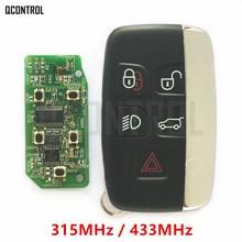 Qcontrol автомобиль дистанционного Smart Key 315 мГц/434 мГц костюм для Land Rover Discovery 4/Freelander для диапазон rover Sport/Evoque