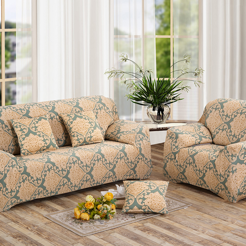 Sofa Stretch Slipcover Wrap All Inclusive Slip Resistant Cover Elastic Towel Single Two Three Four Seater In From Home