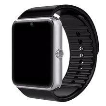GT08 Reloj Inteligente Bluetooth 3.0 Ranura Para Tarjeta Sim Empuje Mensaje Conectividad Bluetooth NFC para iPhone Android Smartwatch Phoones