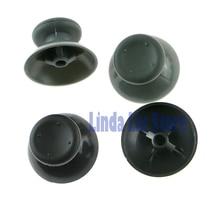 Grey Black Game Rubber Thumbstick Button Joystick Cap for XBox 360 Controller 100pcs/lot